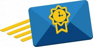 AR Email envelope
