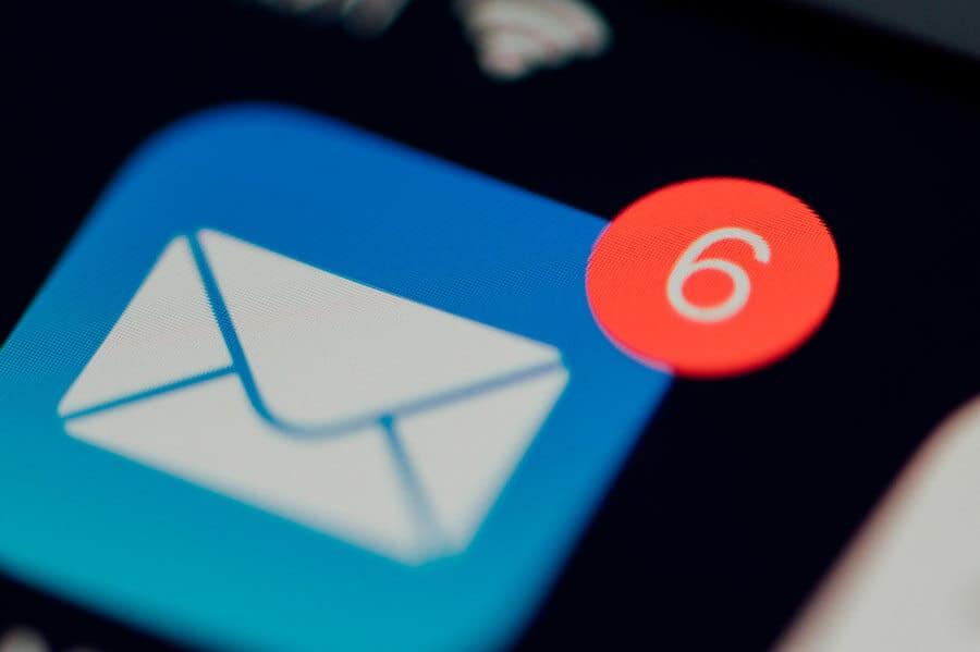 Estatísticas sobre o e-mail